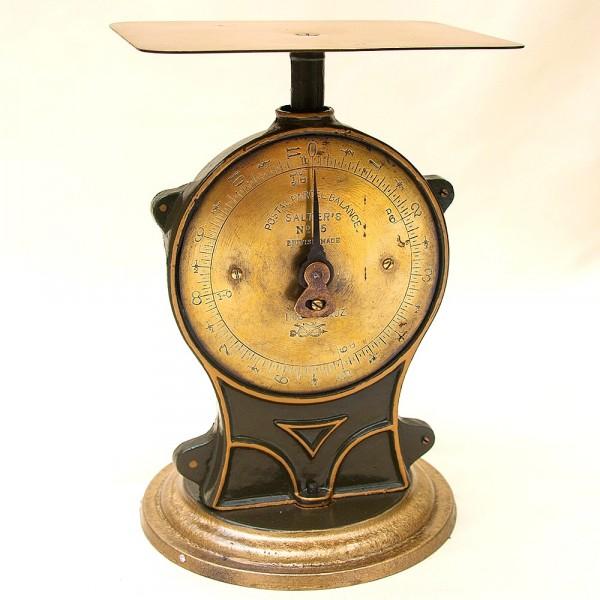 Редкость! Почтовые Механические Весы Повышенной точности 11 Фунтов, SALTER'S Англия начало ХХ века.