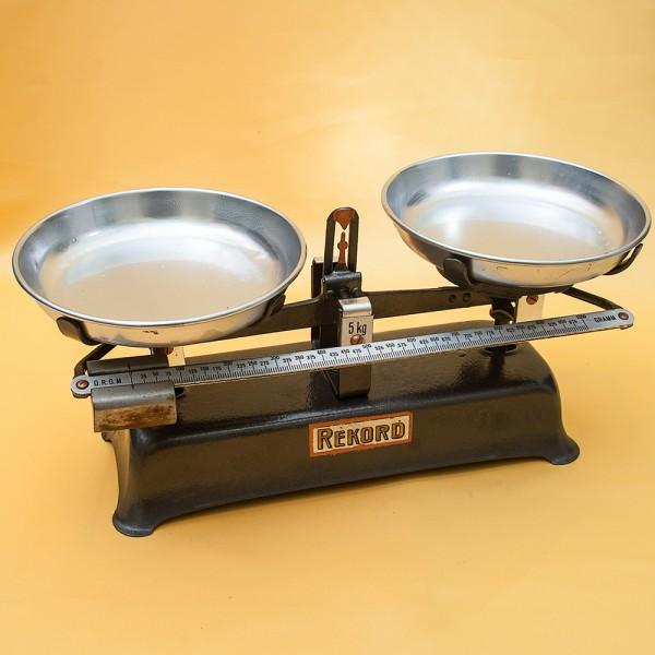 Винтажные Кухонные Механические Весы «RECORD» Повышенной точности GEGRUNDET Германия.