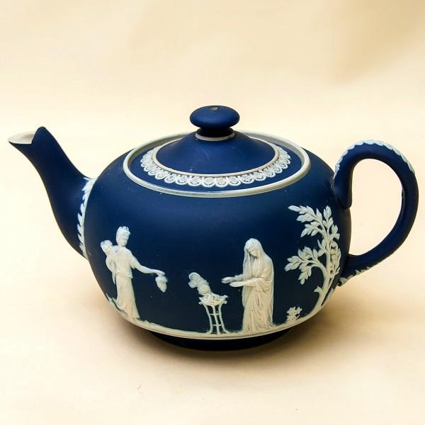 Редкость! Фарфоровый Заварочный Чайник William Adams & Sons, Англия конец ХIХ века.