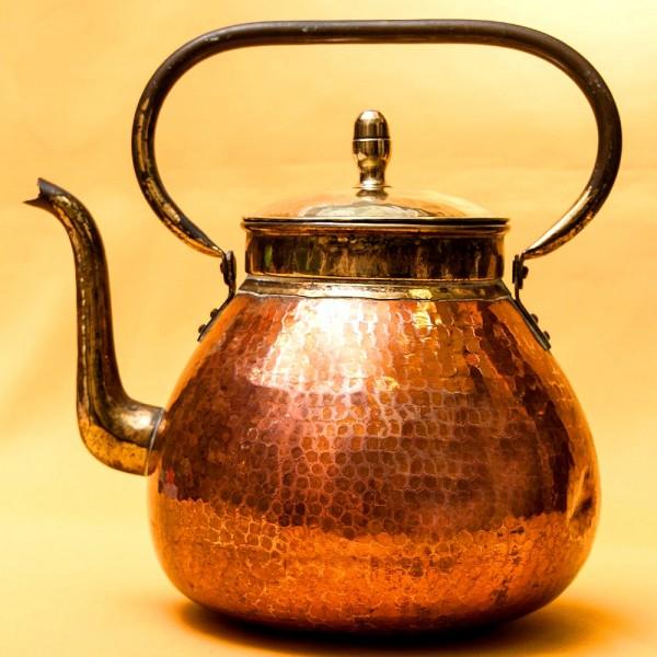 Винтажный Медно - Латунный Чайник на 4 литра. DAALDEROP Бельгия 70-е годы ХХ века.