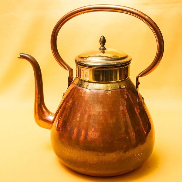 Винтажный Медно - Латунный Чайник на 6 литров. DAALDEROP Бельгия 70-е годы ХХ века.