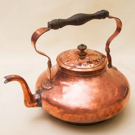 Винтажный Медный Чайник на 2,5 литра. Голландия - 50 -е годы ХХ века.
