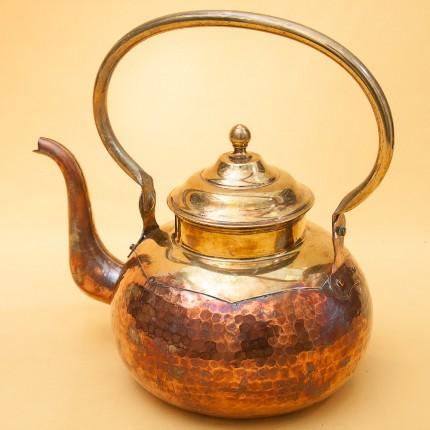 """Винтажный Медно - Латунный Чайник на 2,5 литра, от фирмы """"MECAP"""" Бельгия."""