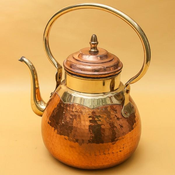 """Винтажный Медно - Латунный Чайник  от фирмы """"MECAP"""" Бельгия - 2 литра."""