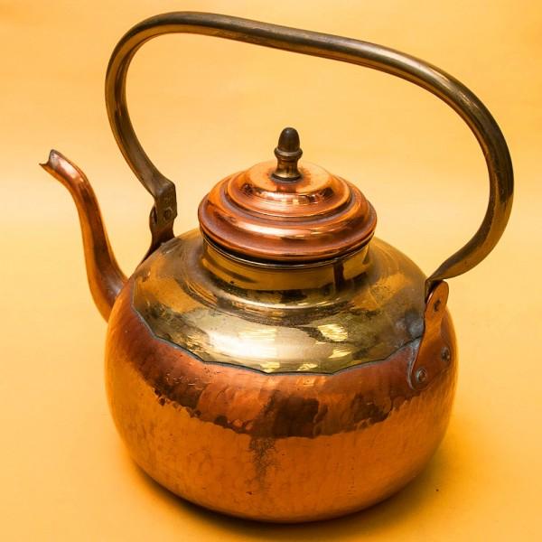 Винтажный Медно - Латунный Чайник  DINANEERE ANDRIES Франция - 3 литра.