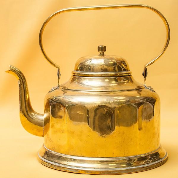 Винтажный Медный Чайник на 4 литра DINANT Бельгия 70-е годы ХХ века.
