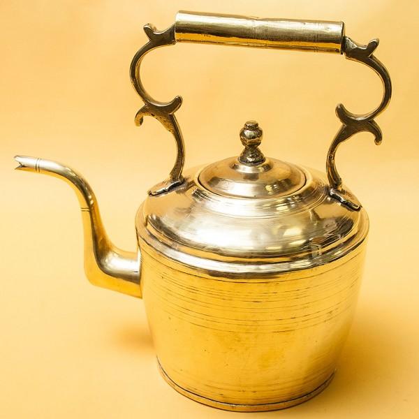 Винтажный Латунный Чайник на 2,5 литра. Голландия, 50 -е годы ХХ века.