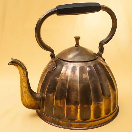 Винтажный Латунный Чайник Германия - 3,5 литра, середина ХХ века!