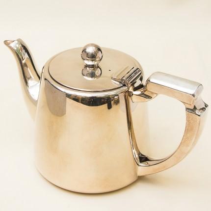 Винтажный Металлический Заварочный Чайник на 800 мл. Silverplate, Англия 60-е годы ХХ века.