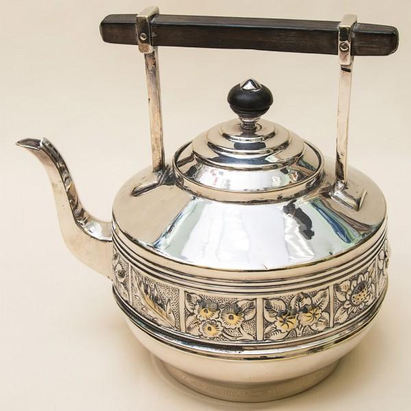 Металлический Заварочный Чайник на 1,6 л. Silverplate, SHEFFIELD, Англия 50-е годы ХХ века.