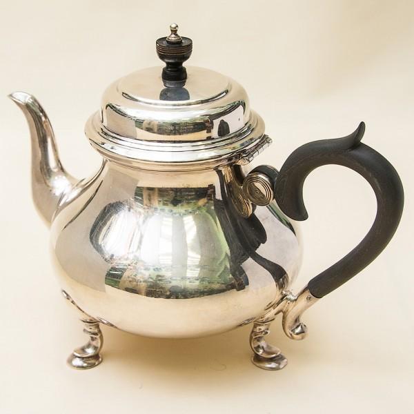 Винтажный Металлический Заварочный Чайник на 1,2 л. Silverplate, Англия 50-е годы ХХ века.