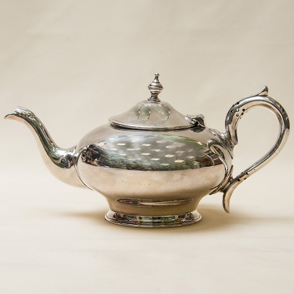 Винтажный Металлический Заварочный Чайник на 1 л. Silverplate, SHEFFIELD Англия 50-е гг.