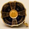 Коллекционная Кофейная Пара «Золотой Сад» Фарфор Германия LINDNER Kueps -60гг.