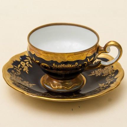 Коллекционная Кофейная Пара «Катарина-II» Фарфор Германия WEIMAR Porzellan -1980 год.