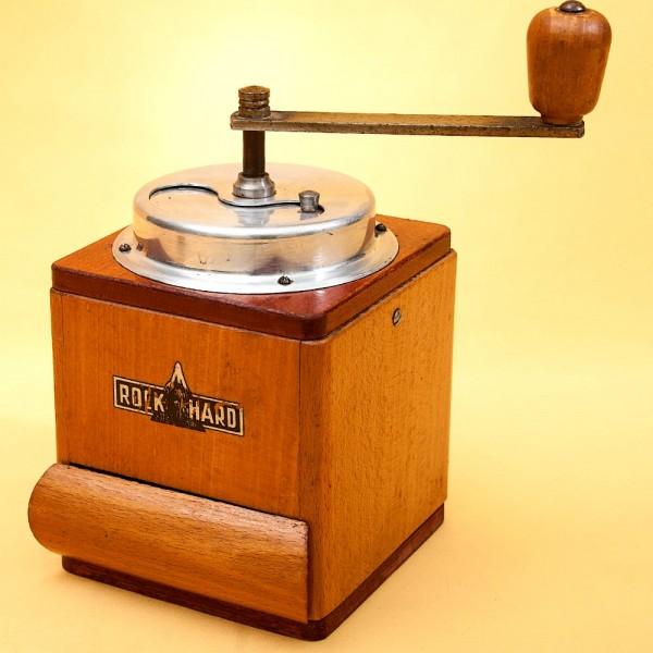Коллекционная Ручная Механическая Кофемолка ROCK HARD, США - середина ХХвека.