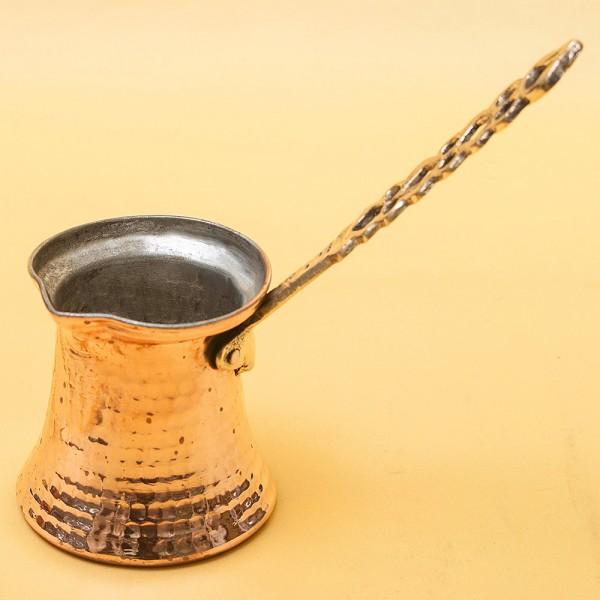 Классическая Арабская Джезва - Турка для кофе на 200 мл. - Медь - середина ХХ века.