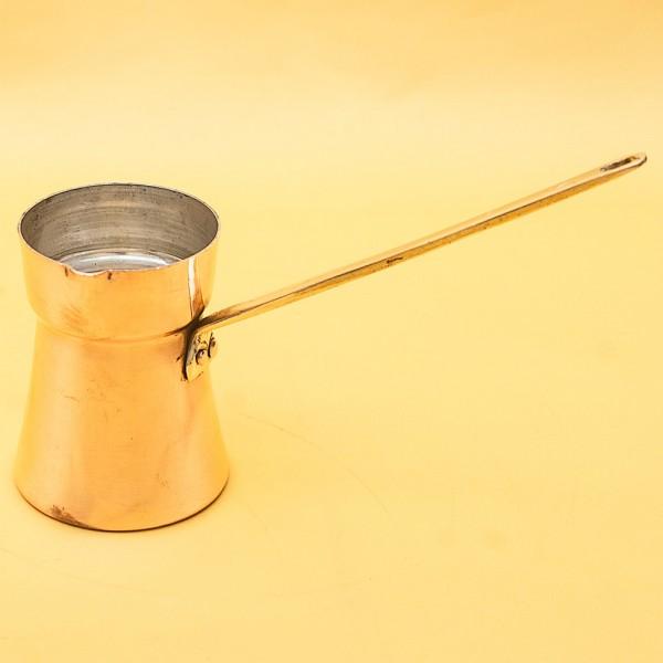 Винтажная Медная Турка - Джезва для варки кофе на 200 мл. Греция ХХ век.