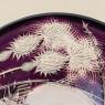 Хрустальное Блюдо «СКАЗОЧНЫЙ ЧЕРТОПОЛОХ» D-28 см., SCHONBORNER Германия конец 60-х гг.