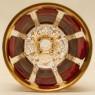 «Рубиновый Хрусталь» - Пара Бокалов для Вина, ERNST WITTIG, Германия середина ХХ века.