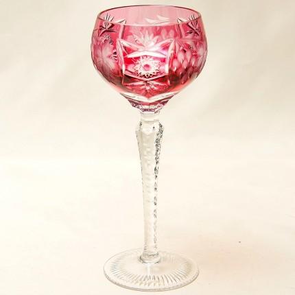 Бокал для вина серия «Виноград» из Цветного Хрусталя, NACHTMANN Германия, 60 -е годы ХХ века.