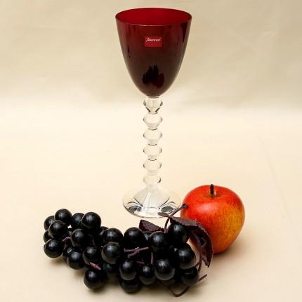 Бокал для вина из коллекции «VEGA» Цветной Хрусталь, BACCARAT Фрация, 2000 год.