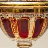 «Рубиновый Хрусталь» - Орешница - Конфетница - Ваза, ERNST WITTIG, Германия.