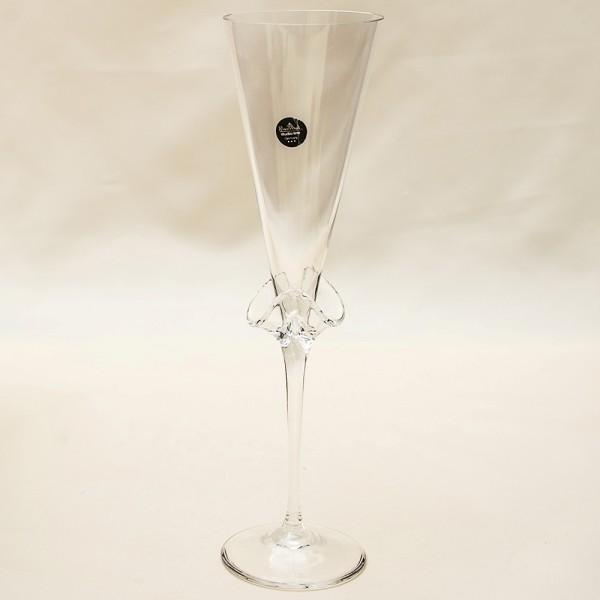 Коллекционный Авторский Стеклянный Фужер для Шампанского - «CARNIVAL» Rosenthal Германия.