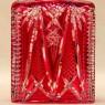 Редкость!!! Графин - Штоф из Цветного Хрусталя Knittel FAKIRIS, Германия, 50-е годы ХХ века.