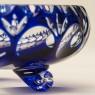 Конфетница - Фруктовница - Ваза серия «BAUMBERG» из Синего Хрусталя NACHTMANN Германия.
