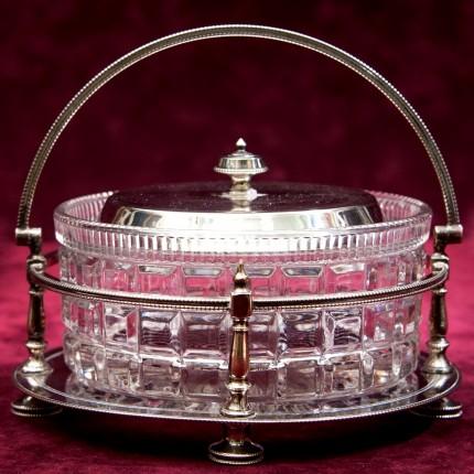 Вазочка - Сахарница - Конфетница - Орешница, SHEFFIELD Англия Silverplate, 40 -е годы ХХ века.