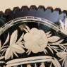 Винтажная Конфетница - Блюдо - Фруктовница, Цветной Хрусталь, SCHONBORNER, Германия 60-е гг.