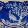 «Охота» - Конфетница - Фруктовница на ножке Хрусталь JOSKA BODENMAIS Германия, 60-е гг.