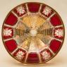 «Орешница» - Конфетница - Ваза, «Рубиновый Хрусталь», ERNST WITTIG, Германия.