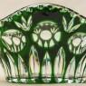 «Большая Зелёная Корзинка» - Ваза - Конфетница  Хрусталь, NACHTMANN Германия, 70 -е гг.