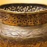Редкость! Винтажное Кашпо для Цветов «Древний Египет», Латунь Франция первая половина ХХ века!