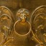 «Королевский Герб» - Кашпо для цветов - Зольник Латунь Бельгия 70-е годы ХХ века.