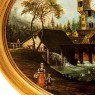 Картина Пейзаж «Старая Мельница» Доска, Масло. Германия -1986 год.