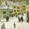 Парные Картины - Натюрморты «Фрукты - Дары Лета» Доска, Масло. Германия 50 -е годы ХХ века.