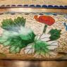 Винтажная Ваза - Шкатулка «Сад Императора» в технике «Клуазоне» Китай 50 -е годы ХХ века.