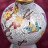 Винтажные Парные Вазы «Цветение Сакуры» в технике « Клуазоне» Китай 50 -е годы ХХ века Н - 16 см.