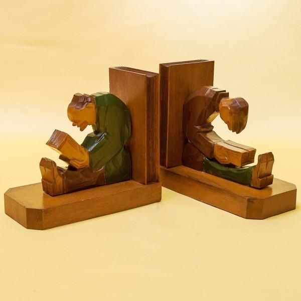 Винтажные Деревянные Держатели-Подставки для книг «Чтецы» Франция 60 -е годы ХХ век.