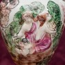 Винтажный Декоративный Кувшин - Ваза «Райский Сад» Фаянс Capodimonte Каподимонте Италия.