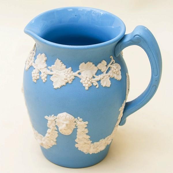 Кувшин - Молочник - Сливочник «Виноградная лоза» фарфор ВЕДЖВУД, WEGDWOOD, Англия -70гг.