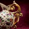 Большой Декоративный Кувшин «Цветочная Симфония»  Фаянс Бельгия Н-30см.