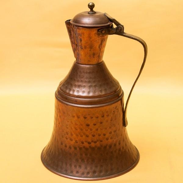 Старинный Восточный Медный Кувшин - Кумган на 2.5 литра. начало ХХ века.