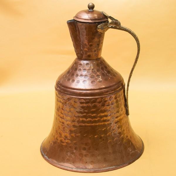 Большой Старинный Восточный Медный Кувшин - Кумган на 4 литра. начало ХХ века.