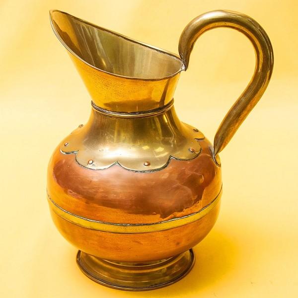 Латунно - Медный Винтажный Кувшин на 2 литра. Бельгия 70-е годы ХХ века.