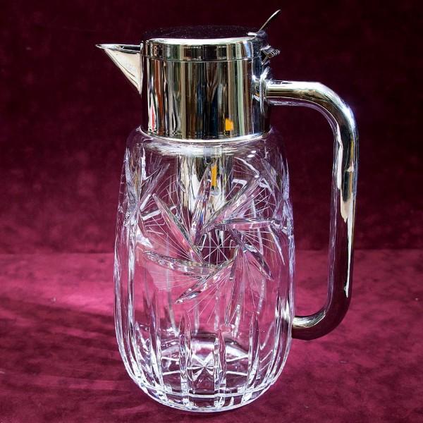 Редкость! Графин - Кувшин с Колбой для льда, Хрусталь WMF Crystal Cabinet Германия.