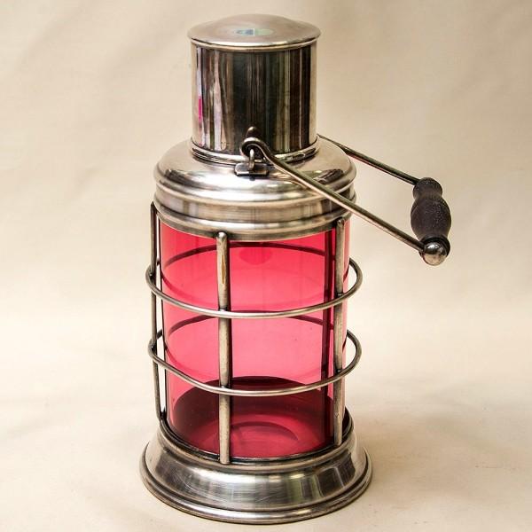 Редкость! Антикварный Стеклянный Термос для Пикника на 1,4 литра. Asprey&Co. Англия начало ХХ века.