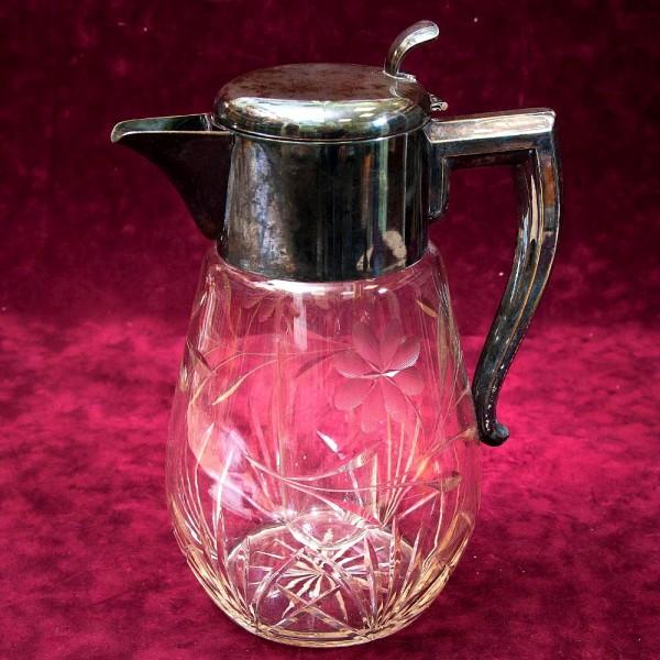 Графин - Кувшин на 4 литра с Колбой для льда Хрусталь WMF Crystal Cabinet Германия.